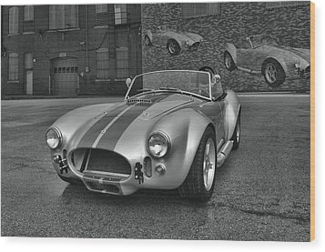 1965 Shelby Cobra Replica Wood Print by Tim McCullough