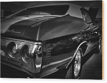 1972 Chevrolet Chevelle Wood Print by David Patterson