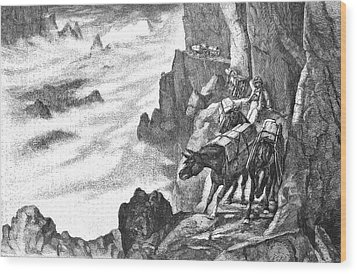 19th Century Smugglers Wood Print by Bildagentur-online/tschanz