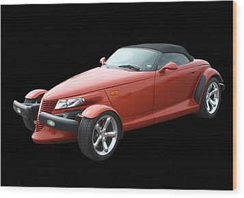 2002 Plymouth Prowler Wood Print by Jack Pumphrey