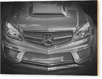 2013 Mercedes Sl Amg Wood Print by Rich Franco