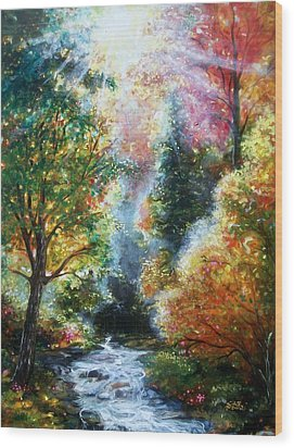 A Good Day Wood Print by Emery Franklin