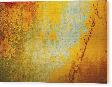 Abstract Wood Print by Mark Weaver