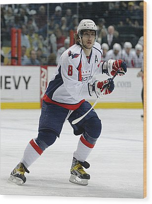 Alex Ovechkin Wood Print by Don Olea