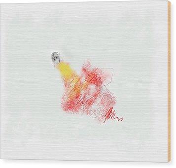 Alone Wood Print by Rc Rcd