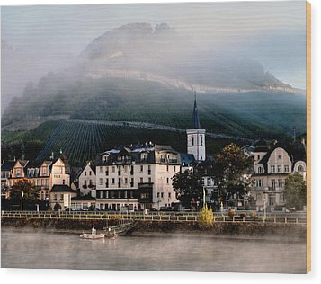 Wood Print featuring the photograph Along The Rhine by Jim Hill
