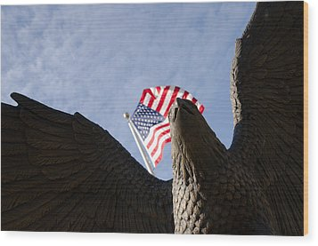 America Wood Print by Off The Beaten Path Photography - Andrew Alexander