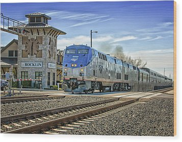 Amtrak 112 Wood Print