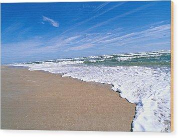 Apollo Beach Wood Print by Millard H. Sharp