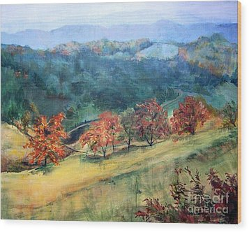 Appalachian Autumn Wood Print
