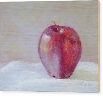 Apple Wood Print by Nancy Stutes