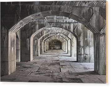 Arches  Wood Print by JC Findley