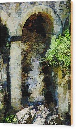 Arches Wood Print by John Stuart Webbstock