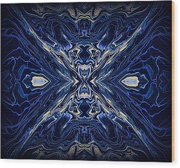 Art Series 7 Wood Print by J D Owen