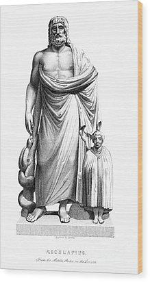 Asklepios Wood Print by Granger