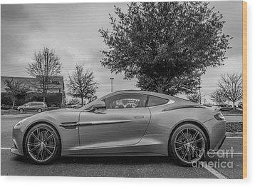 Aston Martin Vanquish V12 Coupe Wood Print