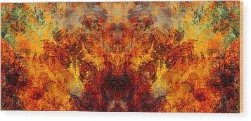 Autumn Glory Wood Print by Christopher Gaston