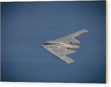B2 Bomber  Wood Print