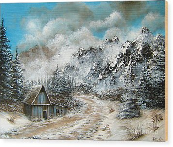 Back Home Wood Print by Patrice Torrillo