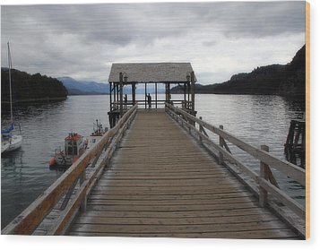 Bariloche Argentina Wood Print