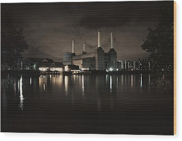 Battersea Wood Print