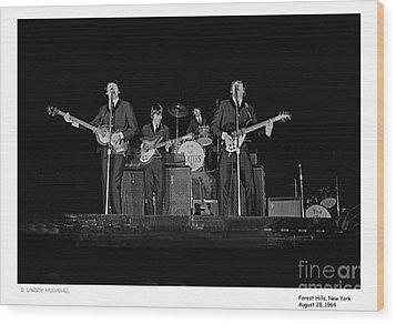 Beatles - 9 Wood Print