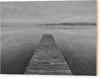 Bettis Landing Wood Print by Donnie Smith