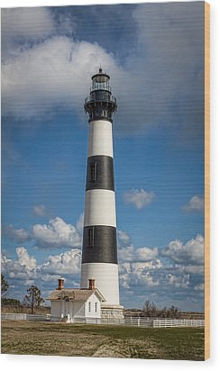 Bodie Island Light Wood Print