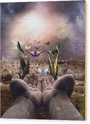 Born Again Israel Wood Print