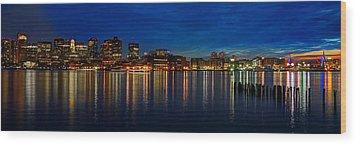 Boston 4031 Wood Print