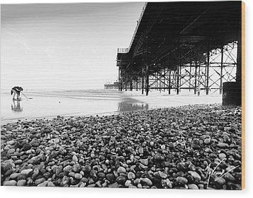 Brighton's Treasure Wood Print by Max CALLENDER