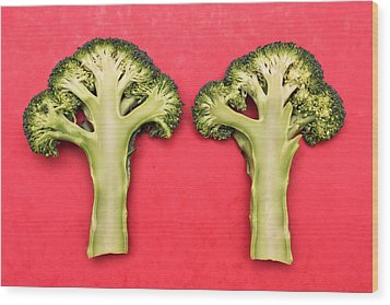 Broccoli Wood Print
