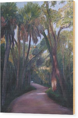 Bulow Creek Plantation Wood Print
