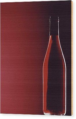 Burgundy Wood Print by Steven Huszar