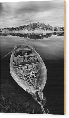 Caicque Wood Print by Okan YILMAZ