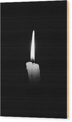 Candlelight Fantasia Wood Print
