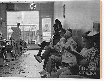 Canton Barber Shop 1997 Wood Print