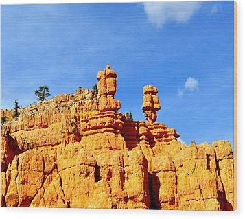 Canyon3 Wood Print by Ernesto Cinquepalmi
