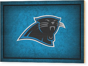 Carolina Panthers Wood Print by Joe Hamilton