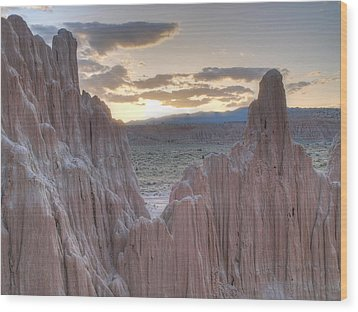 Cathedral Gorge Wood Print