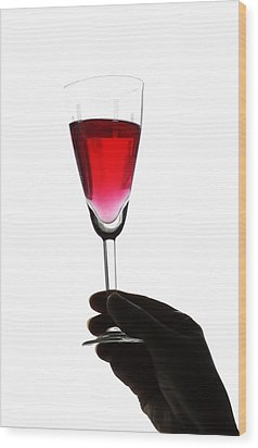 Cheers Wood Print by Svetlana Sewell