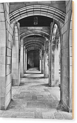 Chicago Fourth Presbyterian Church Wood Print by Christine Till