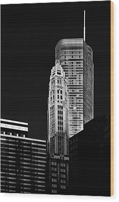 Chicago - Trump International Hotel And Tower Wood Print by Christine Till