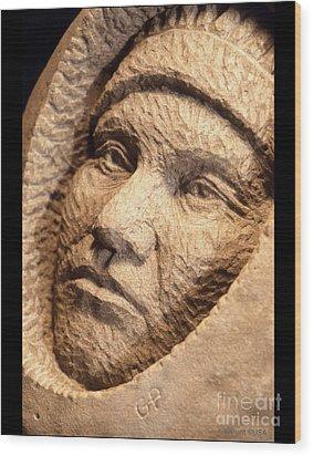Chief-joseph Wood Print by Gordon Punt