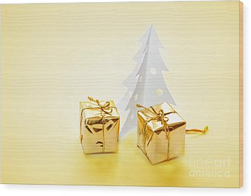 Christmas Decorations Wood Print by Michal Bednarek