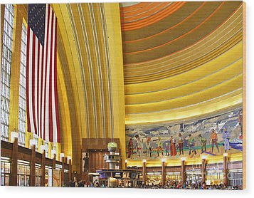 Cincinnati Museum Center At Union Terminal 0018 Wood Print