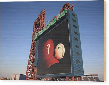 Citizens Bank Park - Philadelphia Phillies Wood Print by Frank Romeo