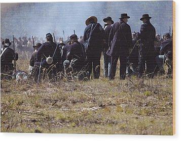 Civil War Wood Print by Kitty Ellis