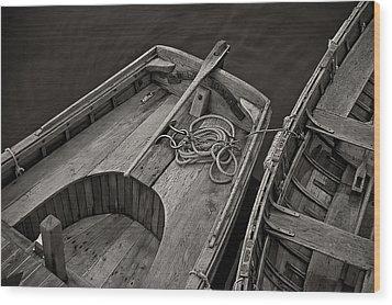 Clark Kent Wood Print by Fred LeBlanc