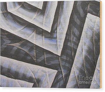 Clipart 007 Wood Print by Luke Galutia